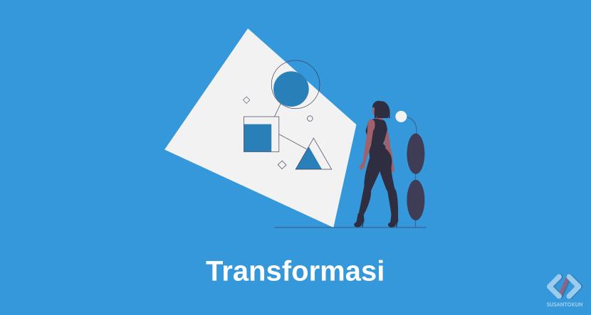 Pengertian, Jenis, Rumus, dan Contoh Transformasi