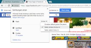 Cara Mengatasi Ninja Saga Tidak Bisa Dibuka di Google Chrome