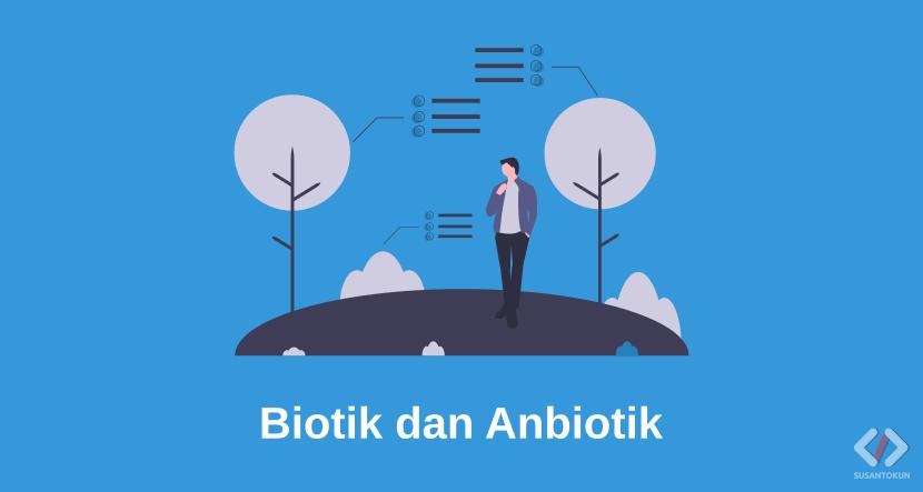 Mengenal Perbedaan Gejala Alam Biotik dan Anbiotik di Sekeliling Kita
