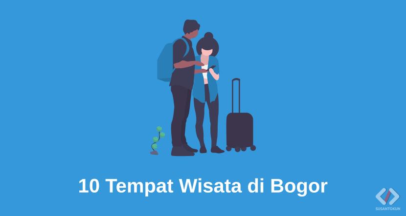 10 Tempat Wisata dengan Pasangan di Bogor