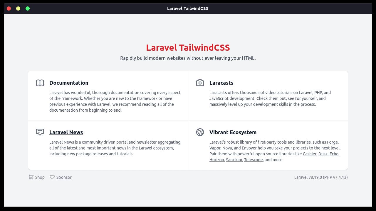 Install Manual TailwindCSS di Laravel 8