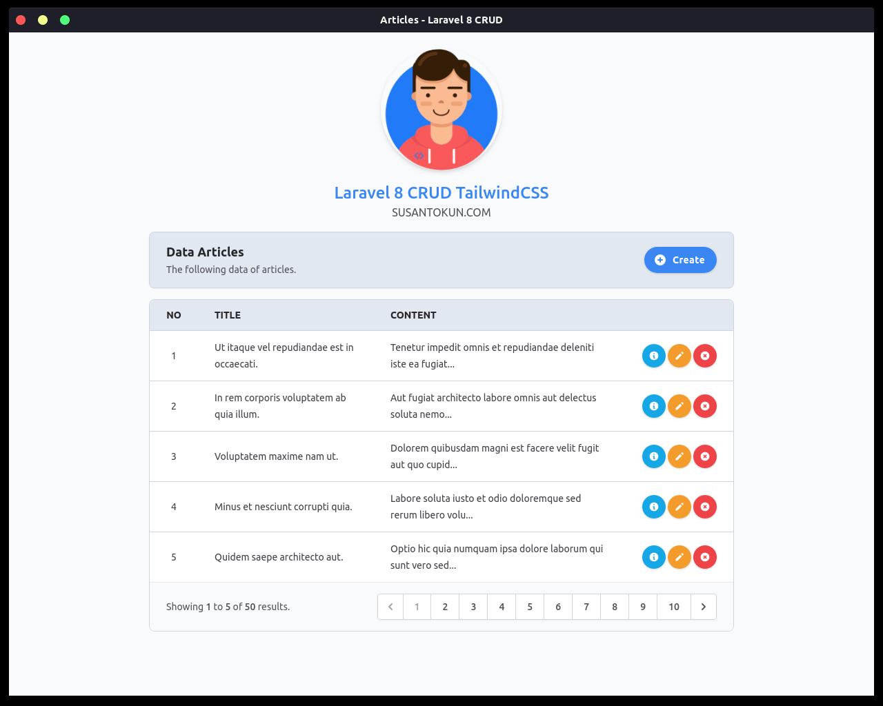 Cara Menampilkan Data di Laravel